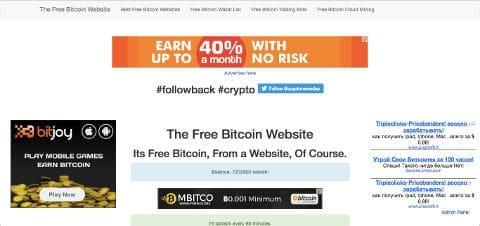 Bitcoin bezpłatnie lista kranów