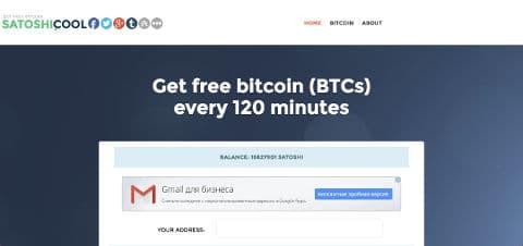 Bitcoin za darmo