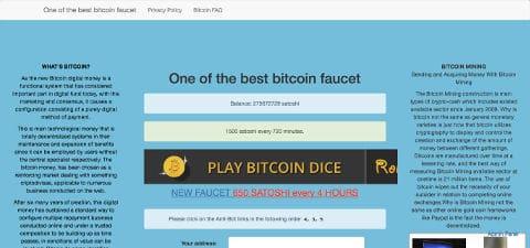 Kran dobrze płacący bitcoinami