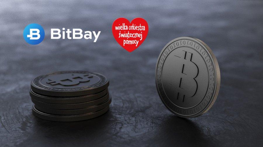 zbiorka bitcoin na wosp